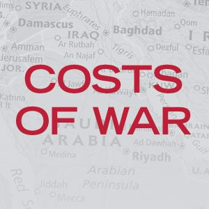 costs of war project Brown university