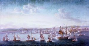 Bombardment of Tripoli.