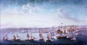 Bombardment of Tripoli.